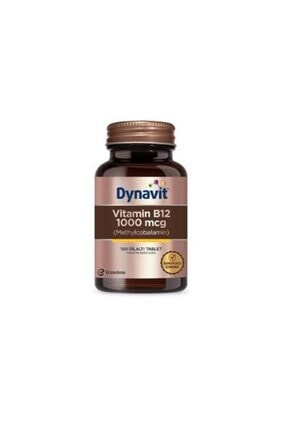 Dynavit Vitamin B12 1000 Mcg Methylcobalamin 100 Dilaltı Tablet 0