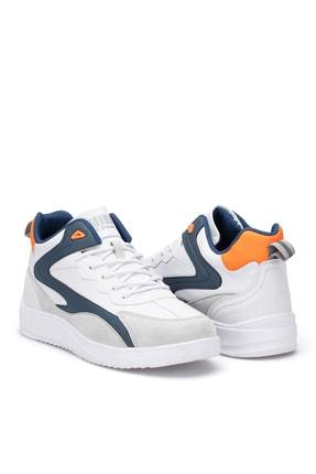 Dark Seer Beyaz Mavi Erkek Sneaker 1