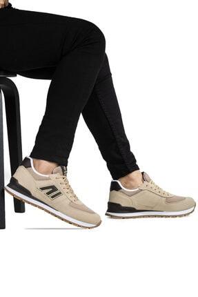 Ayakkabix Erkek Bej Günlük  Spor Ayakkabı 2