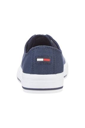 Tommy Hilfiger Kadın Lacivert Sneaker Tommy Jeans Low Cut Vulc EN0EN01351 1
