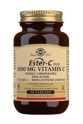 Solgar Ester-c Plus 1000mg 30 Tablet 0