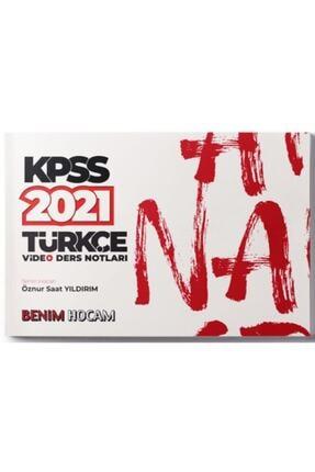 Benim Hocam Yayınları 2021 Kpss Türkçe Video Ders Notları 0
