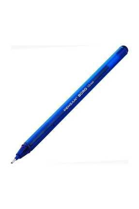 Pensan Mavi Büro 1mm Uçlu Tükenmez Kalem 50'li Paket 0