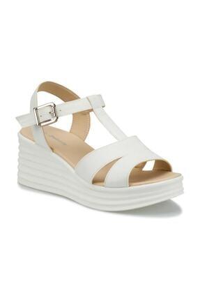 Polaris 315698.Z Beyaz Kadın Sandalet 100508352 0