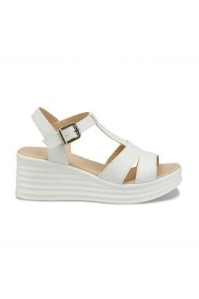 Polaris 315698.Z Beyaz Kadın Sandalet 100508352 1