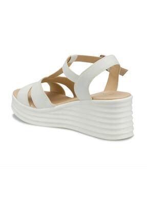 Polaris 315698.Z Beyaz Kadın Sandalet 100508352 2