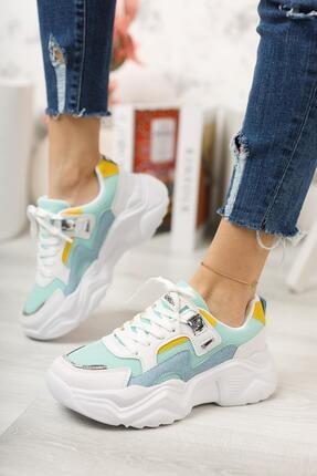 Moda Frato Topuklu Kadın Spor Ayakkabı 2