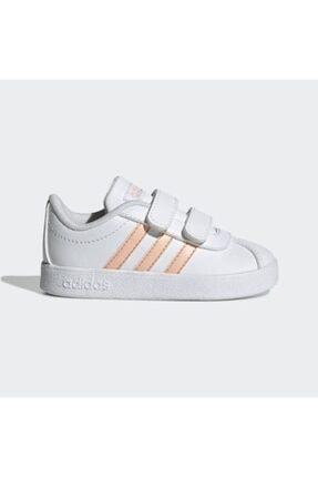adidas Kız Çocuk Somon Rengi Spor Ayakkabı 0