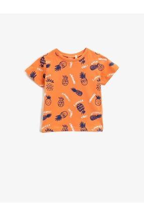 Koton Erkek Bebek Turuncu  T-Shirt 0