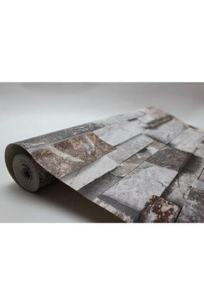 Zümrüt Joven 7075 Taş Desen Duvar Kağıdı 5,33 M² 1