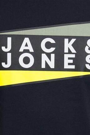 Jack & Jones Jack&jones Jcoshaun Erkek Tişört - 12172246 4