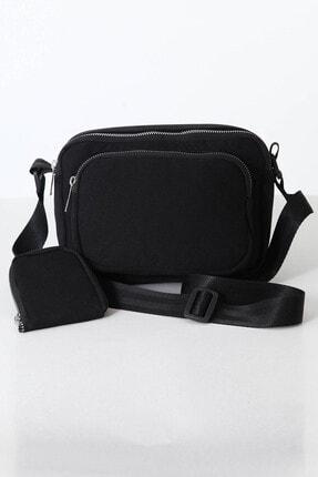 Shaka U4 Siyah Cüzdanlı Çanta 4