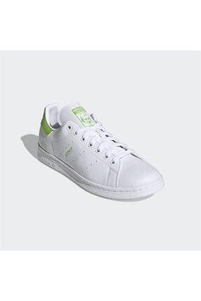 adidas Erkek Beyaz Stan Smith Günlük Spor Ayakkabı 2