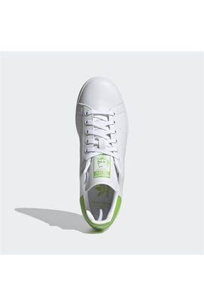 adidas Erkek Beyaz Stan Smith Günlük Spor Ayakkabı 4