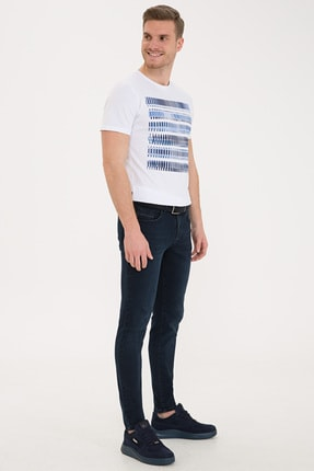 Pierre Cardin Lacıvert Erkek Jeans G021SZ080.000.1244540 1