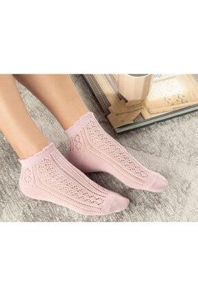 English Home Amber Pamuk Kadın Çorap Pembe 0