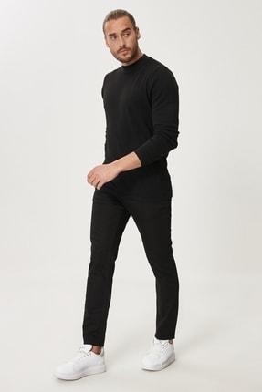 Altınyıldız Classics Erkek Siyah Slim Fit Dar Kesim Denim Jean Kot Pantolon 3