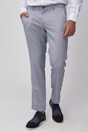 تصویر از Erkek Açık Mavi Slim Fit Casual Pantolon