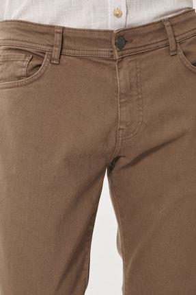 Altınyıldız Classics Erkek Vizon 360 Derece Her Yöne Esneyen Rahat Slim Fit Pantolon 1