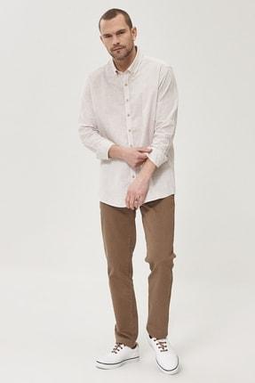 Altınyıldız Classics Erkek Vizon 360 Derece Her Yöne Esneyen Rahat Slim Fit Pantolon 2