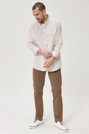 Altınyıldız Classics Erkek Vizon 360 Derece Her Yöne Esneyen Rahat Slim Fit Pantolon 4