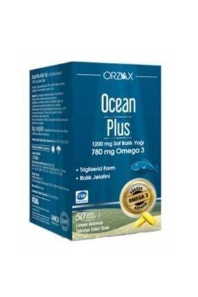 Orzax Ocean Plus Omega 3 1200 Mg 50 Kapsül 0