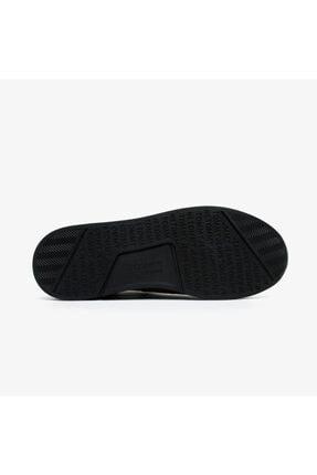 Tommy Hilfiger Erkek Siyah Bağcıksız Spor Ayakkabı 4