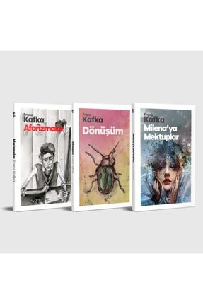 Halk Kitabevi Franz Kafka Unutulmaz Eserleri Seti - 3 Kitap 0