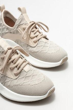 Elle Kadın Ekru Spor Ayakkabı 2