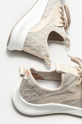 Elle Kadın Ekru Spor Ayakkabı 3