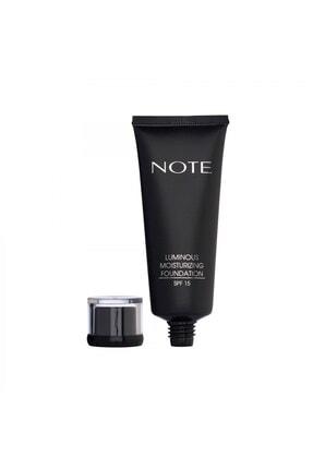 Note Cosmetics Luminous Moisturizing Fondöten 05 Honey Beige 0