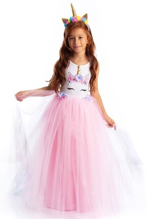 Tameris Kostüm Pembe Unicorn Elbise Rita  Flw 0