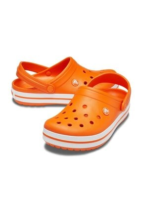 Crocs Crocband Turuncu/beyaz 1