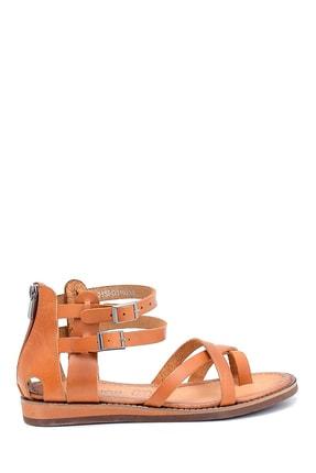 Derimod Kadın Deri Sandalet 0