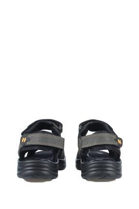Castle Black Unisez Haki Cırtbantlı Sandalet K-3 3