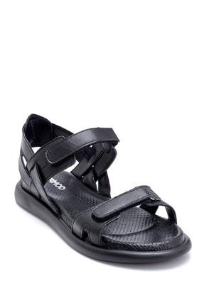 Derimod Kadın Deri Bantlı Sandalet 1