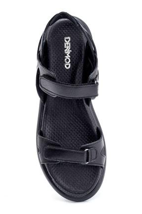 Derimod Kadın Deri Bantlı Sandalet 4