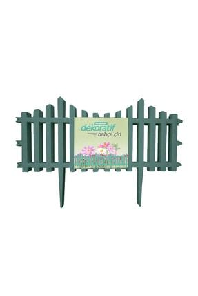Taşmatik Dekoratif Bahçe Çiti Plastik Yeşil Çit 59 Cm Tek Peyzaj Çiti Çiçek Koruma Çiti 4