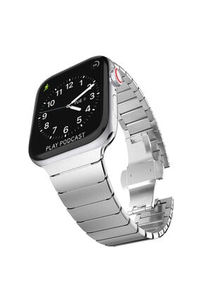 Apple Microsonic Watch Series 6 44mm Kordon Link Bracelet Band 4
