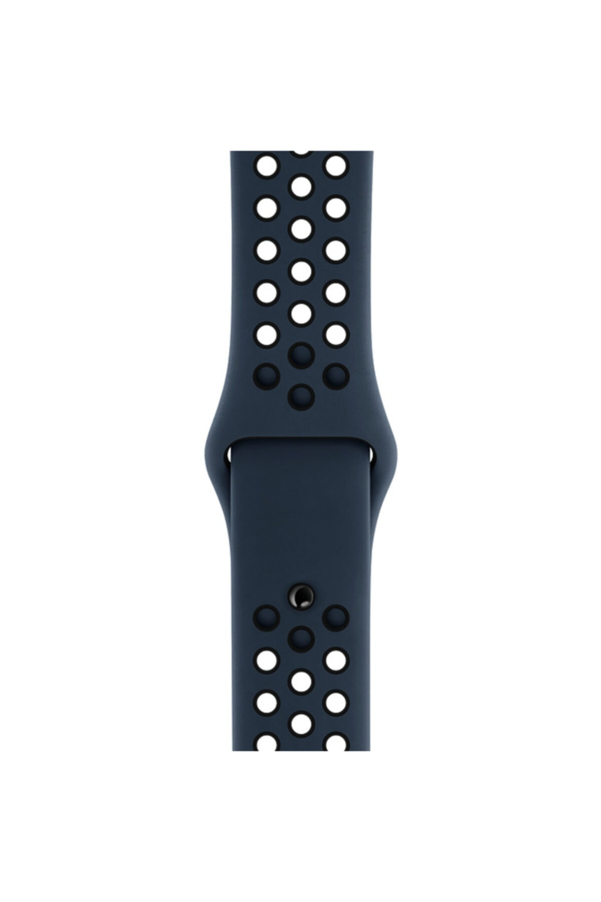 Apple Microsonic Watch Series 4 44mm Rainbow Sport Band Kordon Patlıcan Moru