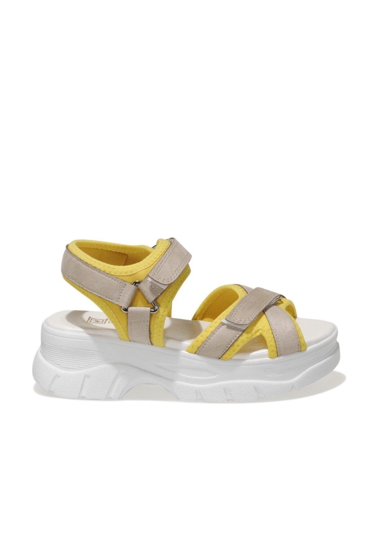 20S-6001FX Bej Kadın Spor Sandalet 101014225