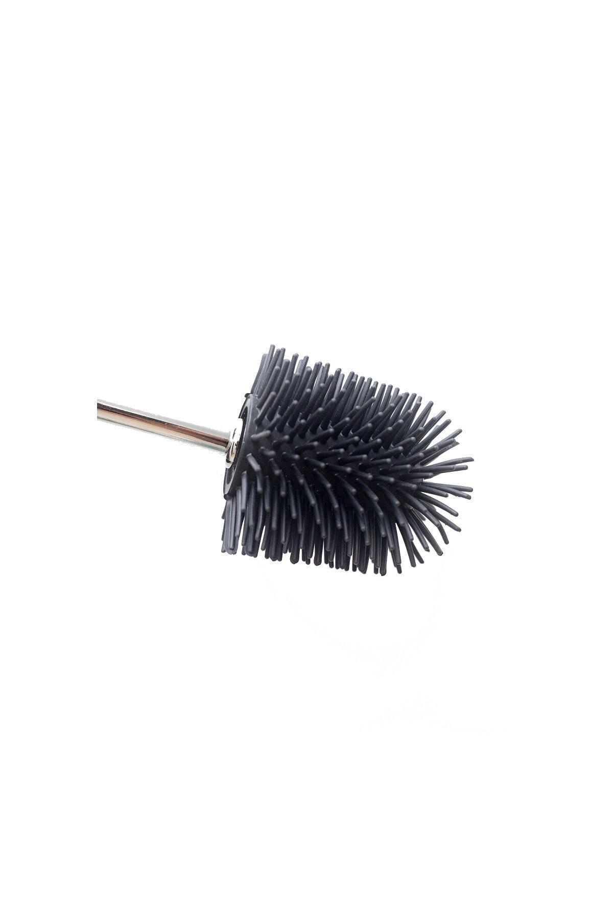 85 Mm Yedek Silikon Wc Fırça - Siyah