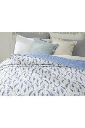English Home Lavender Çift Kişilik Çok Amaçlı Yatak Örtüsü 200x220 Cm Lila 2