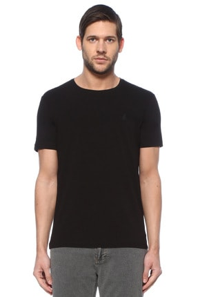 Beymen Club Siyah Bisiklet Yaka Basic T-shirt 0