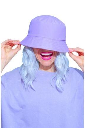 Orçun Özkarlıklı Kadın Lila Balıkçı Bucket Şapka 0