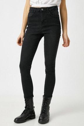 Koton Kadın Siyah Jeans 1KAK47629MD 2