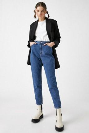 Koton Kadın Orta İndigo Jeans 1YAK47979MD 0