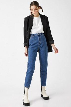 Koton Kadın Orta İndigo Jeans 1YAK47979MD 1