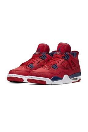 Nike Erkek Kırmızı Air Jordan 4 Retro Se Cı1184-617 Basketbol Ayakkabısı 1