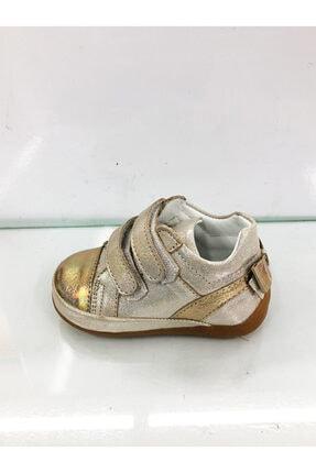 Kız Çocuk Altın Spor Ayakkabı İZZETAMCA50